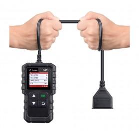 Creader LAUNCH Scanner Diagnostic Mobil OBDII (ORIGINAL) - 3001 - Black - 6