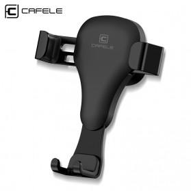 CAFELE Air Vent Smartphone Car Holder Mobil - Black