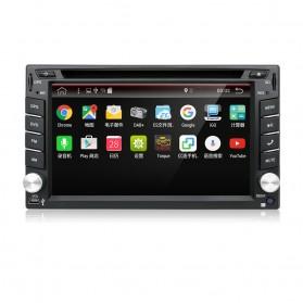 Eunavi Head Unit Mobil Android 7.1 DVD Player GPS Wifi 2/32GB - 410K - Black - 4