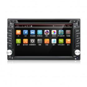 Eunavi Head Unit Mobil Android 7.1 DVD Player GPS Wifi 2/32GB - 410K - Black - 5