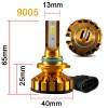 PHELENSEYE Lampu Mobil Headlight LED 9005 DOB 80W 5000 Lumens 2 PCS - Golden