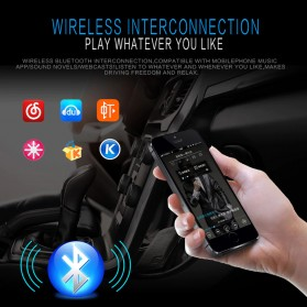 Taffware Tape Audio Mobil MP3 Player Bluetooth Wireless Receiver 12V - MP3-912 - Black - 4