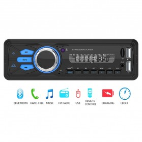 Taffware Tape Audio Mobil MP3 Player Bluetooth Wireless Receiver 12V - MP3-506 - Black