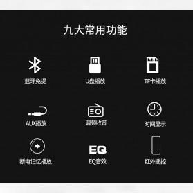 Taffware Tape Audio Mobil MP3 Player Bluetooth Wireless Receiver 12V - MP3-506 - Black - 3