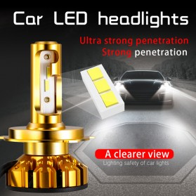 NightTech Lampu Mobil Headlight LED H7 CSP 2 PCS - Golden - 2