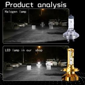 NightTech Lampu Mobil Headlight LED H7 CSP 2 PCS - Golden - 8