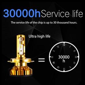 NightTech Lampu Mobil Headlight LED 9005 CSP 2 PCS - Golden - 7
