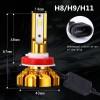 NightTech Lampu Mobil Headlight LED H11 CSP 2 PCS - Golden