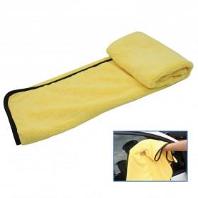 Tirol Handuk Microfiber Lap Pengering Mobil XL 92 x 56 cm - T22453 - Yellow - 3