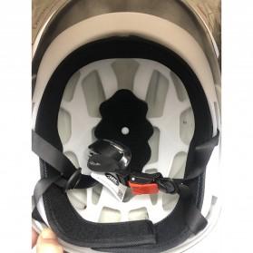 Nuoman Helm Sepeda Skuter Motor Elektrik Half Face - 302 - Black - 3