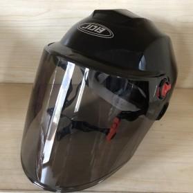 Nuoman Helm Sepeda Skuter Motor Elektrik Half Face - 316 - Black