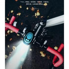 ANLOOK Lampu Sepeda LED XPE Q5 dengan Klakson 120dB - CD-08 - Black - 2