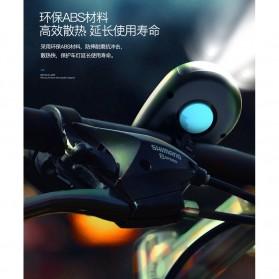 ANLOOK Lampu Sepeda LED XPE Q5 dengan Klakson 120dB - CD-08 - Black - 5