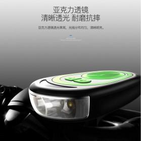 ANLOOK Lampu Sepeda LED XPE Q5 dengan Klakson 120dB - CD-08 - Black - 6