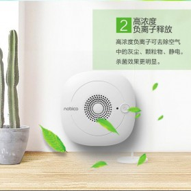 NOBICO Pembersih Ion Udara Air Purifier Cleaner - NBO-XD01 - White - 4