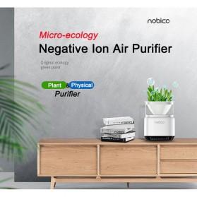 NOBICO Pembersih Ion Udara Air Purifier Cleaner - J009A - White - 7