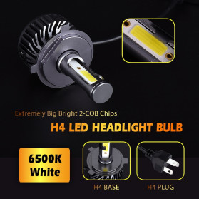 INFITARY Lampu Mobil Headlight Car Fog Bulb LED COB H7 72W 8000LM - Black - 7