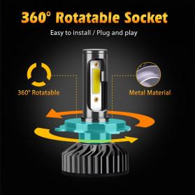 INFITARY Lampu Mobil Headlight Car Fog Bulb LED COB H7 72W 8000LM - Black - 9
