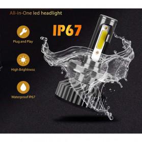 INFITARY Lampu Mobil Headlight Car Fog Bulb LED COB H7 72W 8000LM - Black - 11