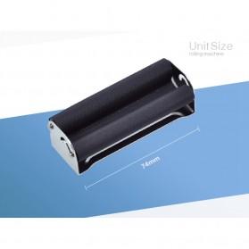 Alat Penggulung Linting Rokok Manual Tobacco Roller Machine 70mm - TN900 - Black - 4