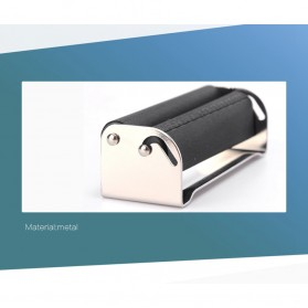 Alat Penggulung Linting Rokok Manual Tobacco Roller Machine 70mm - TN900 - Black - 5