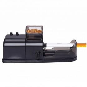 Alat Penggulung Rokok Electric Cigarette Injector Tobacco Roller Machine - A19 - Black - 2