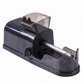 Alat Penggulung Rokok Electric Cigarette Injector Tobacco Roller Machine - A19 - Black - 3