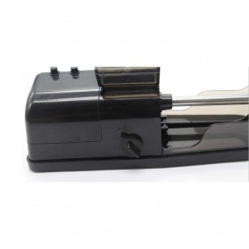Alat Penggulung Rokok Electric Cigarette Injector Tobacco Roller Machine - A19 - Black - 4
