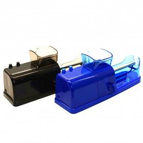 Alat Penggulung Rokok Electric Cigarette Injector Tobacco Roller Machine - A19 - Black - 6