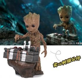 Miniatur Karakter Marvel Groot Guardians of the Galaxy - Model 2