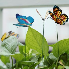 SOLEDI Dekorasi Kebun Kupu-Kupu Artificial Flying Butterfly 50 PCS - SO50 - Multi-Color - 3