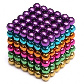ANTSMAG Mainan Magnetik Force Magic Bucky Ball Leisure Time - 203 - Multi-Color