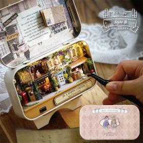 Pajangan Box Miniatur Rumah Boneka 3D DIY - Q-005 - Mix Color