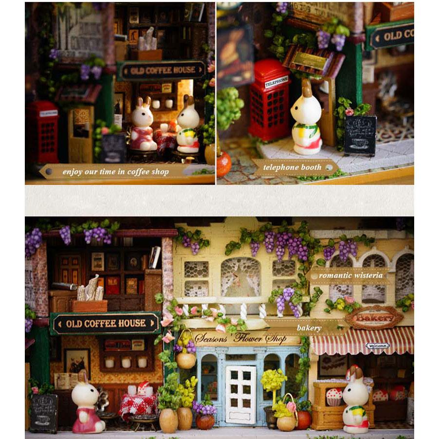 ... Pajangan Box Miniatur Rumah Boneka 3D DIY - Q-005 - Mix Color - 3 ... 37e62f5cc3