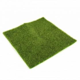 RUYI Dekorasi Taman Rumput Sintetis Artificial Grass Landscape - JM-4024 - Green
