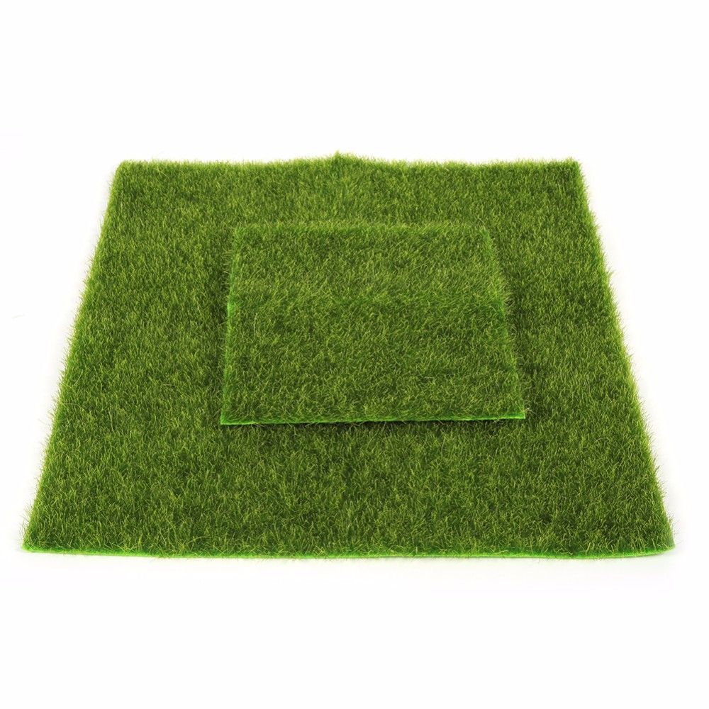 Ruyi Dekorasi Taman Rumput Sintetis Artificial Grass Landscape Jm 4024 Green