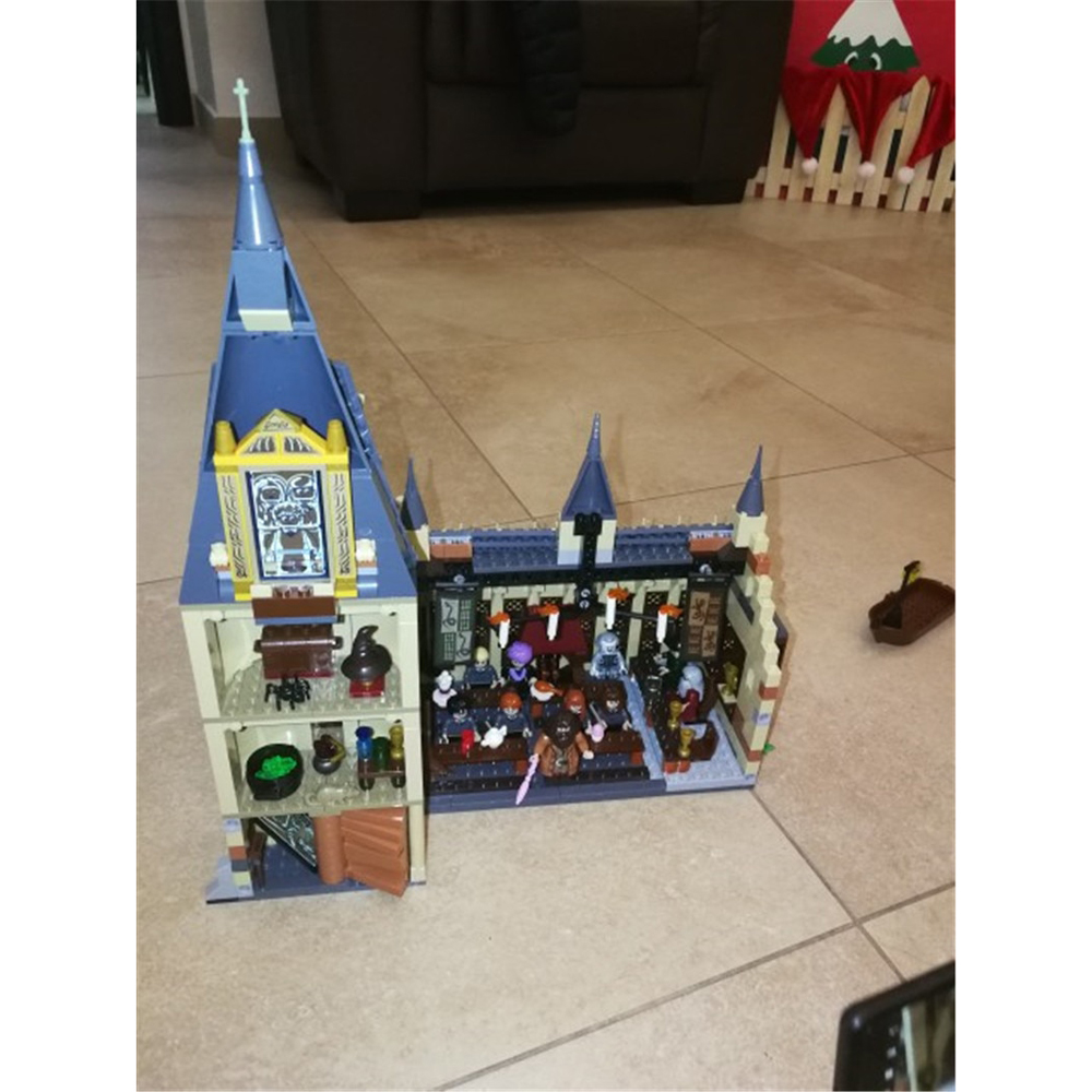 Lego Castle Harry Potter Hogwarts Building Blocks 1205