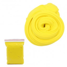 GISIGN Mainan Slime Fluffy Foam Clay Ball Supplies DIY - 328-0803 - Yellow