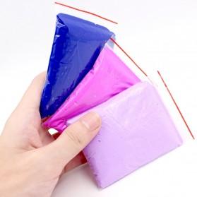 GISIGN Mainan Slime Fluffy Foam Clay Ball Supplies DIY - 328-0803 - Yellow - 2