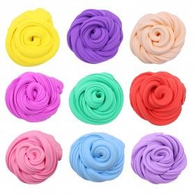GISIGN Mainan Slime Fluffy Foam Clay Ball Supplies DIY - 328-0803 - Yellow - 3