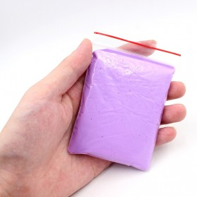 GISIGN Mainan Slime Fluffy Foam Clay Ball Supplies DIY - 328-0803 - Purple - 7