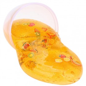 Mainan Slime Model Telur Colorful Egg Stress Relief Toy - 0627 - Yellow - 2