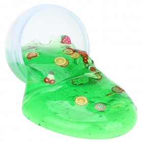 Mainan Slime Model Telur Colorful Egg Stress Relief Toy - 0627 - Green - 2