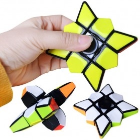 One Order Fidget Spinner Gyro Puzzle Magic Cubes - 133 - Mix Color