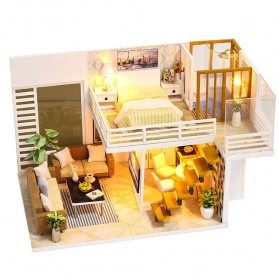 NAJIAXIAOWU Miniatur Rumah Boneka DIY Doll House Wooden Furniture - K-031