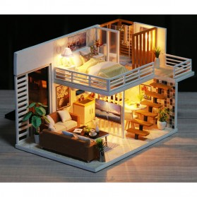 NAJIAXIAOWU Miniatur Rumah Boneka DIY Doll House Wooden Furniture - K-031 - 2