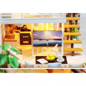 NAJIAXIAOWU Miniatur Rumah Boneka DIY Doll House Wooden Furniture - K-031 - 4