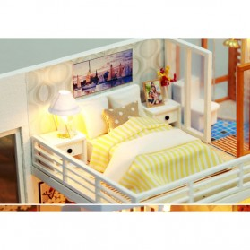 NAJIAXIAOWU Miniatur Rumah Boneka DIY Doll House Wooden Furniture - K-031 - 9