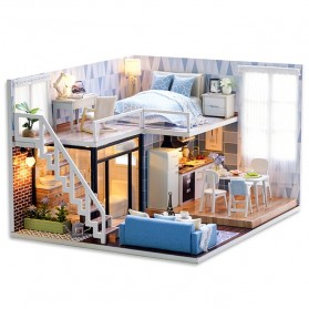 CUTE ROOM Miniatur Rumah Boneka DIY Doll House Wooden Furniture - L023