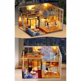 CUTE ROOM Miniatur Rumah Boneka DIY Doll House Wooden Furniture - L023 - 5